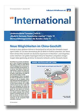 Fachmagazin VR International